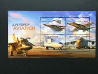 Australian 2011 Air Force Aviation - MUH Mini Sheet