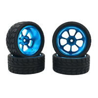4 pezzi di ricambio per pneumatici e ruote per auto RC per WLtoys A949 A959 K929