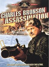 Charles Bronson Assassination DVD Action NEW FACTORY SEALED FREE FAST SHIPPING