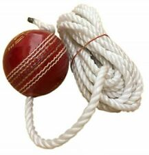 Tima Leather Cricket Shot Practice Hanging Ball String Multicolor @Us
