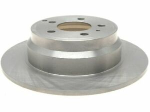 Rear Brake Rotor For 1994-1997 Volvo 850 FWD 1995 1996 B948GD Silver -- New