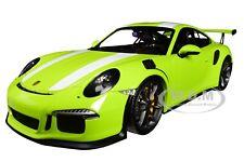 1 18 Minichamps Porsche 911 (991) Gt3 RS 2015 Lightgreen/white