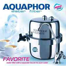 AQUAPHOR Favorite One Stage Carbon Fibre Block Inline Drinking Water Filter tap