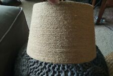 Jute Lamp Shade, Excellent