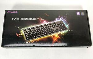Filco Majestouch 2 Black Wired Keyboard Brown Switch US FKBN104M/EB2