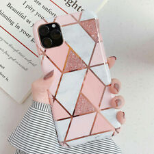 Plating Marble Phone Case For iPhone 11 Pro Max XS XR X 8 7 Plus Soft Back Cover