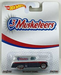 '55 Chevy Panel > 3 Musketeers > Hot Wheels > 2015 > New