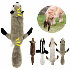 New listing Dog Toys Squeak Plush Chew Pet Animal Playing Training Teeth Cleaning Supplies