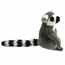 Eco-6 Conservation and Education Lemur Stuffed Animal Plush Soft Toy