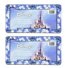 "Disney Lilo and Stitch License Plate Frame Auto Tag Universal 12.5"" x 6"" - 2 PC"
