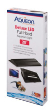 "Aqueon Deluxe LED light Full Hood size 20"" fit aquarium light Brand New"
