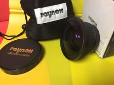 0.7x Raynox HD-7000 Pro High Definition WIDE ANGLE LENS 43-58 mm Canon HV20 HV30