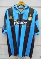 INTER maglia Internazionale 1994 1995  indossata worn Angelo Orlando Fiorucci