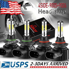 90059006 Led Combo Headlight Kit Cree Cob 340w Light Bulbs High Amp Low Beam
