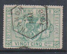 Belgium - 1879/82, 25c Railway Parcel Post - G/U - SG P65