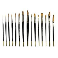 Brushes4Art Deluxe Classic Watercolour Collection Set of 15 Paint Brushes