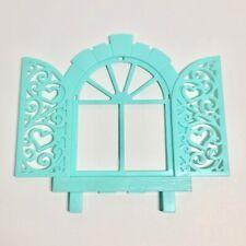MY LITTLE PONY G1 Paradise Estate Aqua Lattice Window Frame / Shutters