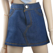[wamami] 06# Blue Jeans Skirt Outfit For 1/4 MSD DZ DOD Girl BJD Dollfie