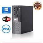 Dell Optiplex Desktop Windows 10 Computer 3.1GHz Intel Core i5 8GB RAM WIFI SSD