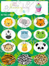Honeybug MAGNETIC reborn doll PACIFIER In the JUNGLE SPRINKLES sheet 12 decals