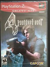 Resident Evil 4 PS2 Game Playstation 2 New and Sealed