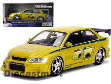 BRIAN'S 2002 Mitsubishi Lancer Evo VII 'Fast & Furious' 1:24 Diecast Jada 99788