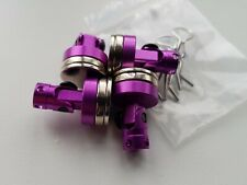 1/10 RC car magnetic body shell mount x4 purple alloy