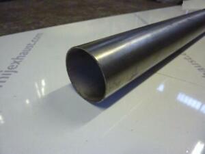 "1 metre Long 63mm / 2.5"" Diameter Stainless Steel Exhaust Straight Tube Pipe 1m"