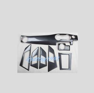 ABS Carbon Fiber Car Interior Kit Cover Trim For Mercedes-Benz GLK 2013-2018