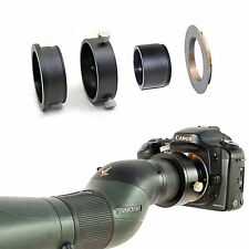 Canon EOS camera adapter for Swarovski Spotting Scope HD 65 80 25-50x eyepiece