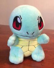 "Pokemon Squirtle 6"" Mini Plush Nintendo EUC"