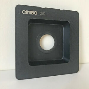 Cambo SUNKEN Front Lens Panel_Used