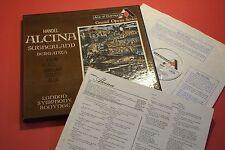 GOM 509-11 3 LP Handel Alcina Sutherland Berganza LSO Bonynge DECCA UK