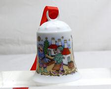 Hutschenreuther Glocke  Weihnachtsglocke 1994 Porzellan  Ostseeinsel  OVP