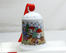 HUTSCHENREUTHER cloche cloches de Noël 1994 porcelaine Baltic Sea Island