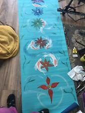 Handpainted Yoga Mat
