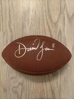 Daniel Jones Autographed NFL Football New York Giants Duke Blue Devils! HOT!
