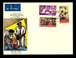 Nigeria 1966 Red Cross Series FDC - L9048