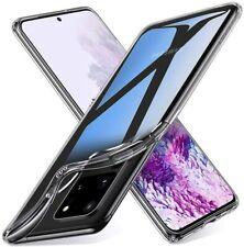 Ultra Slim Schutz Transparent Gel Silikon Schutzhülle Für Samsung S20 Plus &