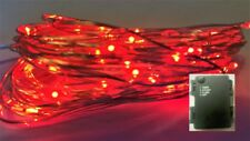 60 LED RED AA Battery 6m String Light+ON+FLASH+Timer modes+Use In/Outside