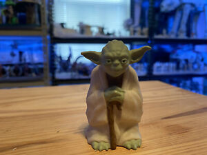 """Vintage 1996 Star Wars Yoda Action Figure- Loose Applause 3"""" Lucasfilm PVC"""
