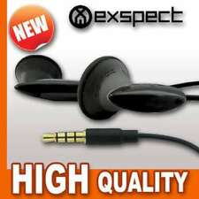 EXSPECT Quality 3.5mm Gaming EARPHONES + MIC For PS VITA Headphones BLACK V1