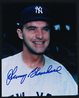 Johnny Blanchard New York Yankees Baseball Autographed Signed 8x10 Photo JSA