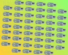 50 x Gabelkopf 4x8 M4 verzinkt - ohne Zubehör - Gabelgelenk Gabelköpfe