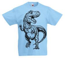Infantil Dinosaurio Camiseta 3 -13 Años Niños Jurásico Infantil Regalo T-Rex z1