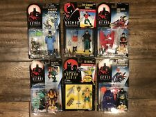 THE NEW BATMAN ADVENTURES Action Figures by Kenner - Lot of 6