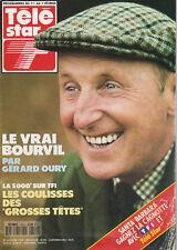 Télé Star N°800 - 27 Jan. 1992 - Bourvil - Mike Brant - J. Birkin - Mathilda May