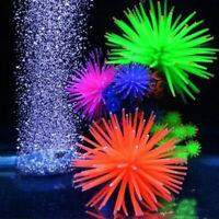 Fish Tank Aquarium Decoration Artificial Plastic Coral Fake Plant GO9Z