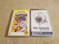 PSP game lot of 2: Time Travelers (2012) psp game + Ape Escape psp game