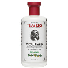 Thayers Alcohol Free Original Witch Hazel Toner (12oz/355ml) NEW